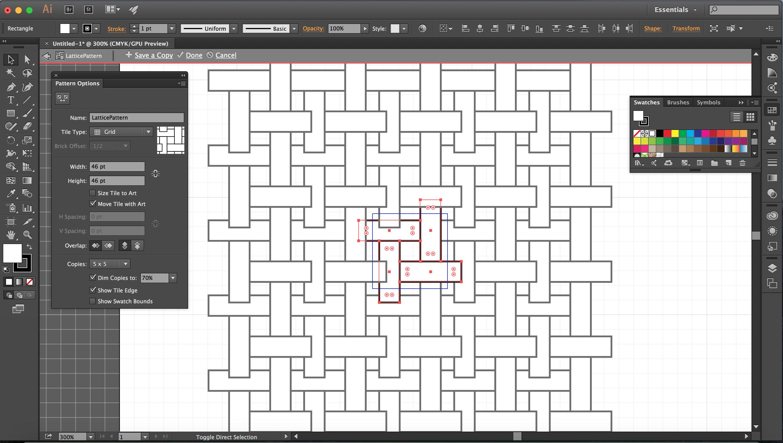 Pattern Spacing Stage 3