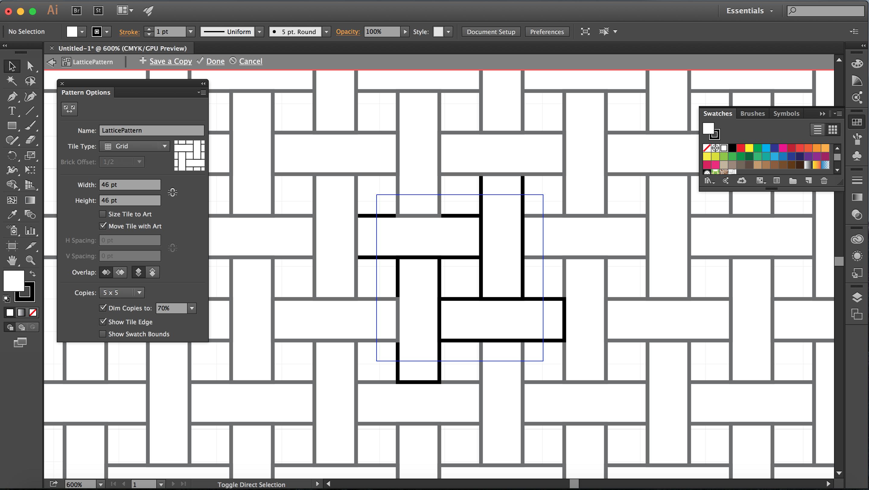 Pattern Spacing Stage 4