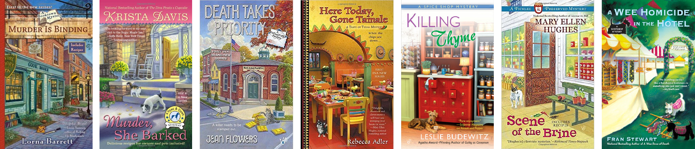Cozy Mystery Selection