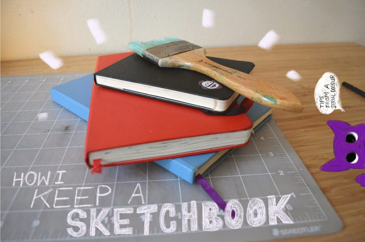 Tips for Keeping a Sketchbook